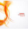 beautiful abstract background from smooth lines vector image