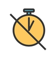 Timer Off vector image