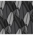 jungle plants vector image vector image