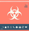biological hazard vector image