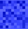 geometric square pixel mosaic pattern background vector image vector image