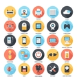 Technology icons vector image