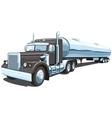 Tanker truck vector image