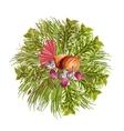 Vegetables Decorative Circle vector image