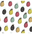 Modern fruit seamless pattern Background with vector image