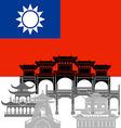 Taiwan vector image