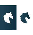Business horse logo for company firm - isolated vector image
