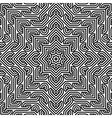 decorative modern geometric NON SEAMLESS pattern vector image vector image