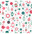 Beautiful design Christmas seamless pattern with vector image