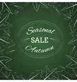 Season autumn sale vector image