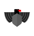 Eagle Coat Of Arms With space for text Emblem vector image