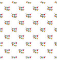 Colorful party flags pattern vector image