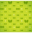 bow pattern vector image vector image