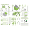 INFOGRAPHIC ECOLOGICAL vector image