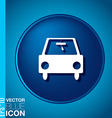 Icon car Vehicles icon of transport vector image