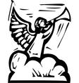 Angel Trumpet vector image