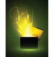 Magic box vector image vector image