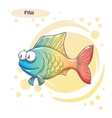 Drawn Cartoon Fish vector image