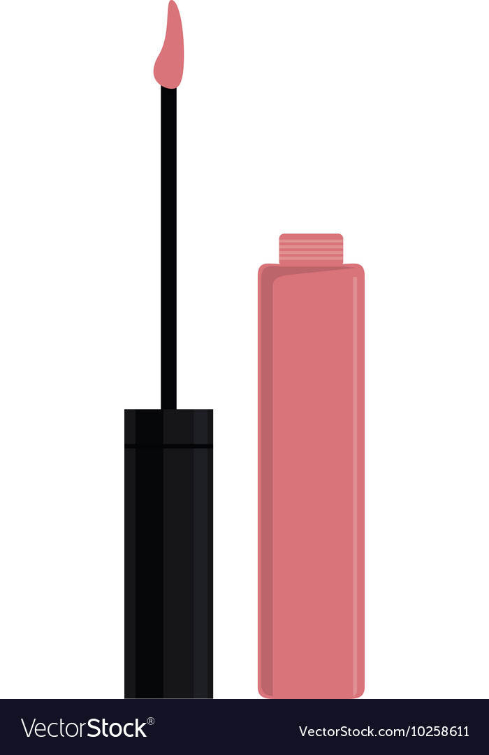 Lip cream or gloss icon vector