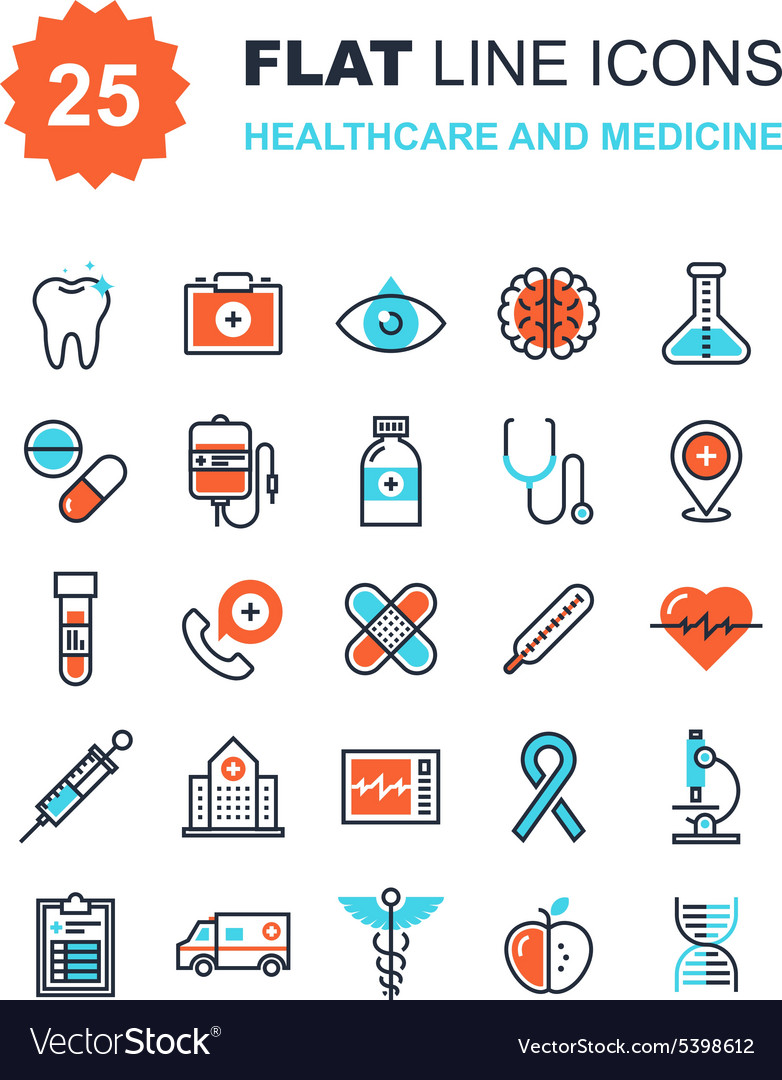 Healthcare and medicine vector