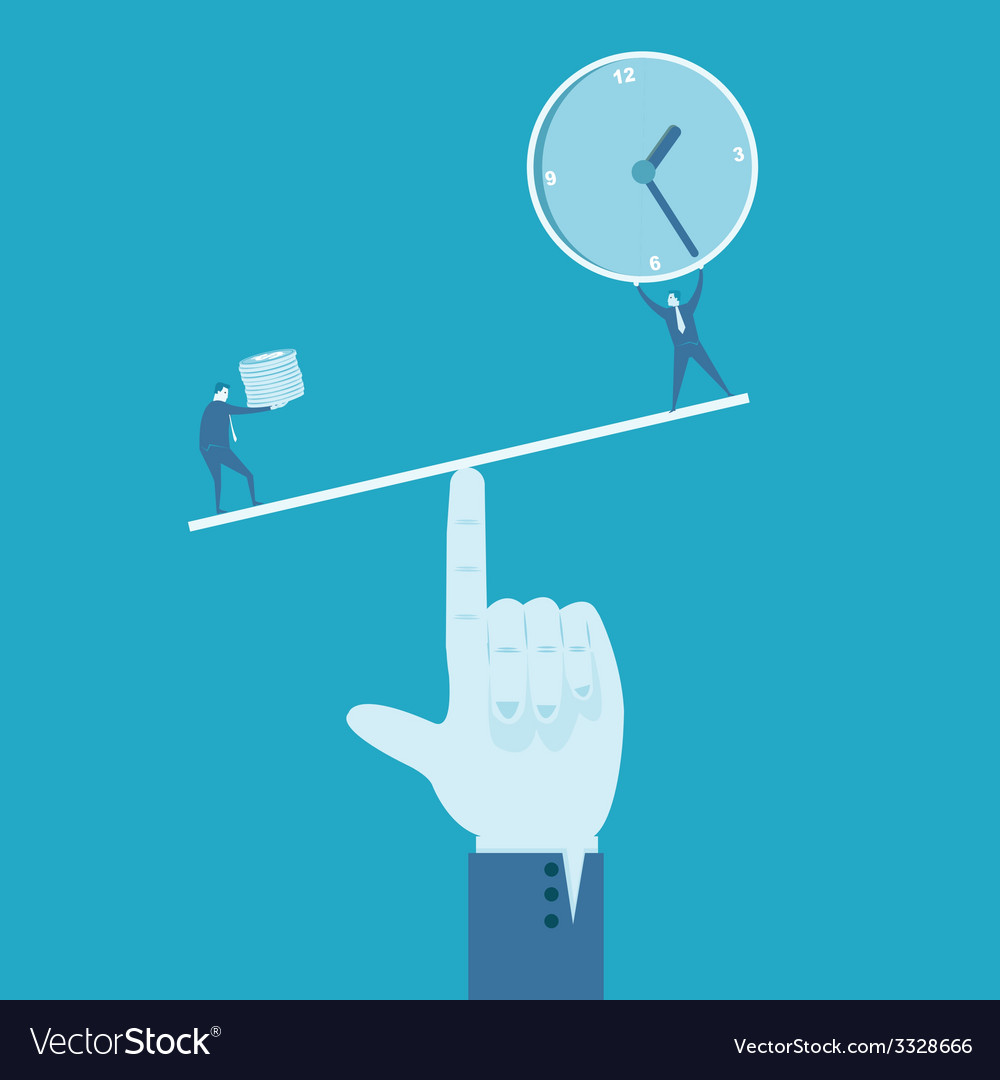 Time and money vector