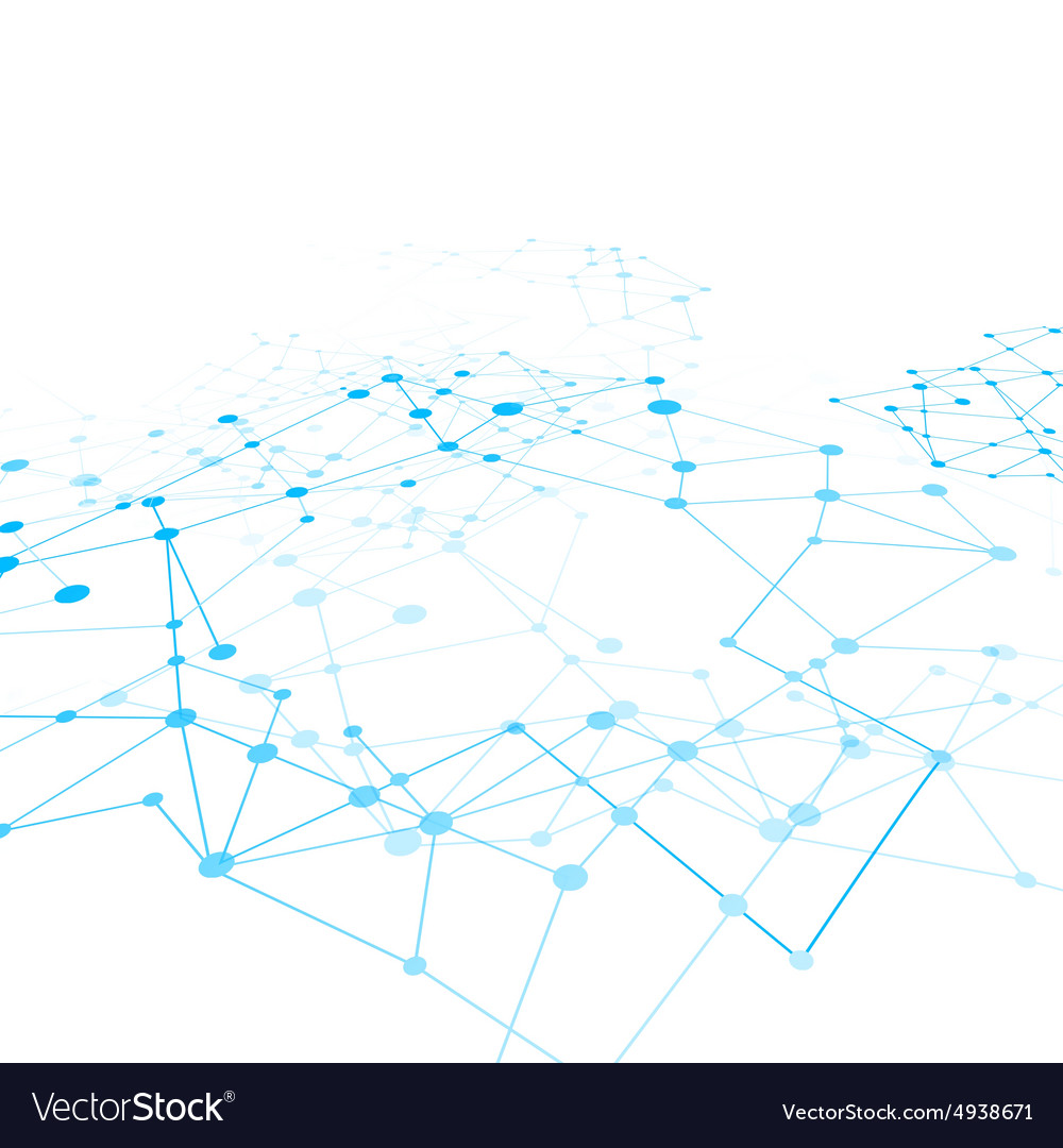 Abstract background network connect concept 009 vector