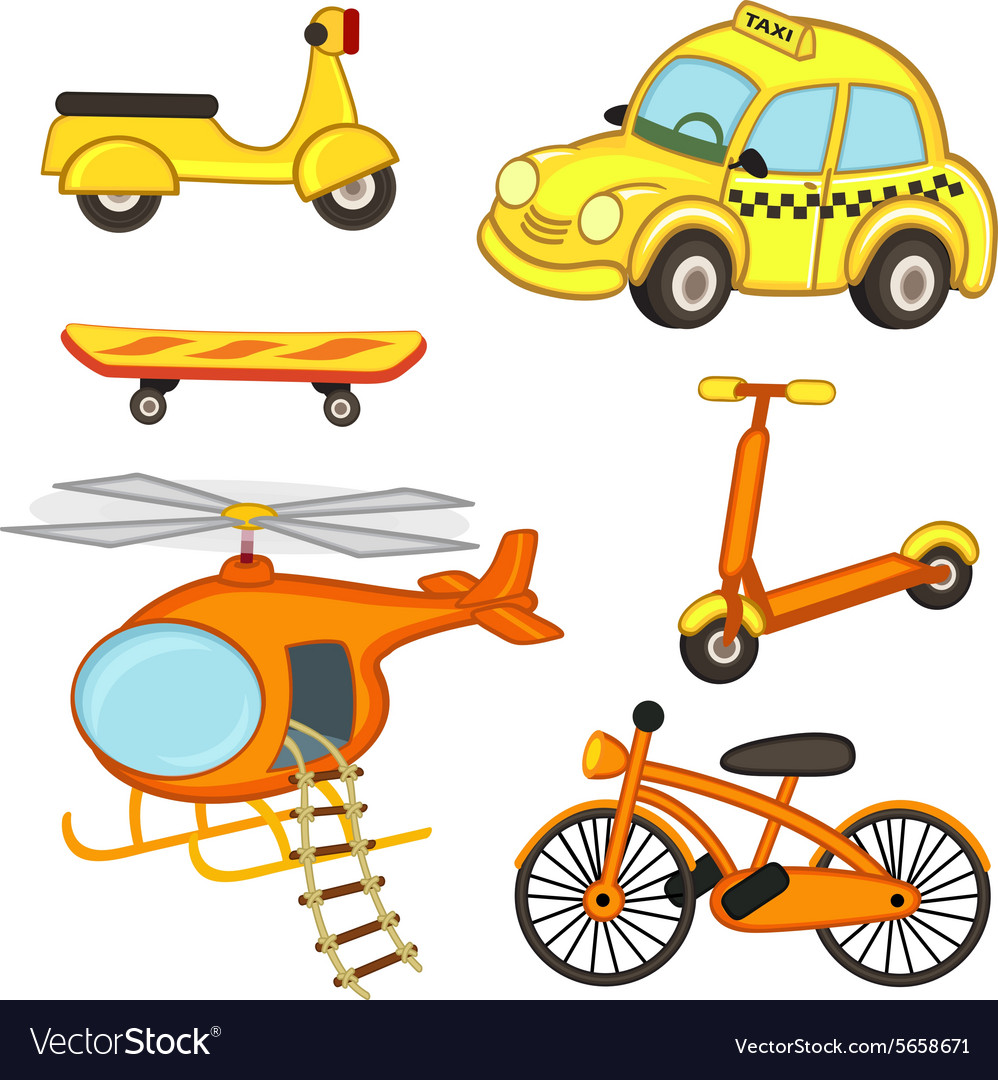 Set of isolated transport vector