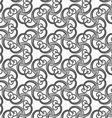 Monochrome spirals and stripes vector image