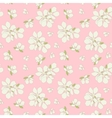 Seamless blossom background vector image