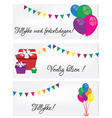 Postcards Happy Birthday vector image