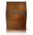wood texture retro card vector image