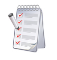 planner vector image vector image