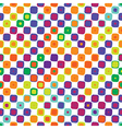 seamless texture spring bright colors vector image