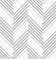 Monochrome pattern with gray and dark gray chevron vector image