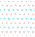 Blue Pink Star Abstract White Background vector image