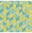 Geometric seamless pattern in vintage colors vector image