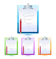 letter pad and pencil vector image