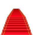 red carpet 01 vector image