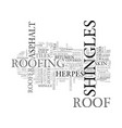 shingles word cloud concept vector image