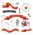 Elegant set of design elements vector image vector image