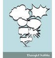 Comic clouds vector image