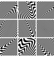 Textures set vector image vector image