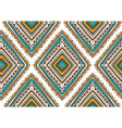 seamless pattern with ethnic tribal ornamental vector image