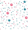 circles seamless pattern in pastel colors vector image