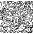 flower abstract seamless vector image