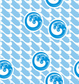 japan marine background vector image