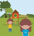 children entertainment vector image
