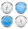 Compasses vector image vector image