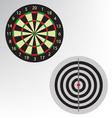 dart board vector image