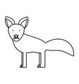 fox ilustratio vector image